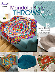Mandala-Style Throws to Crochet