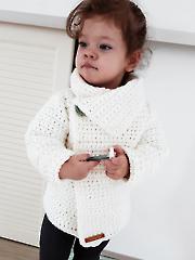 Snowdrop Cardigan Crochet Pattern