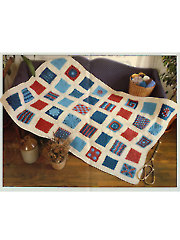 40 Stitches Sampler Afghan Crochet Pattern