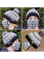 Arctic Blast Beanie Set Crochet Pattern
