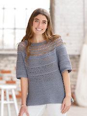 ANNIE'S SIGNATURE DESIGNS: Salty Waters Crochet Tee Pattern
