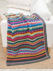 Scrap Happy Afghan Crochet Pattern