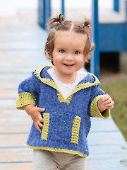 ANNIE'S SIGNATURE DESIGNS: Cool Kids Hoodie Crochet Pattern