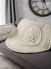 Christmas Rose Afghan Crochet Pattern