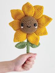 Amigurumi Sunny Sarala the Sunflower Crochet Pattern