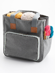 Annie's Yarn Tote with Front Pocket
