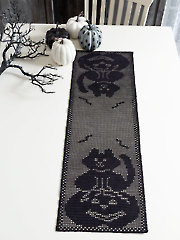 Spooky Night Runner Crochet Pattern
