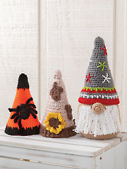 ANNIE'S SIGNATURE DESIGNS: Seasonal Gnomes to Crochet Pattern