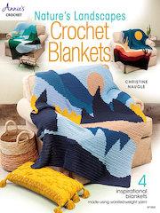 Nature's Landscapes Crochet Blankets