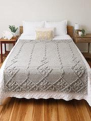 ANNIE'S SIGNATURE DESIGNS: Flower Field Crochet Blanket Pattern