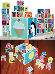 Fun & Educational Alphabet Blocks
