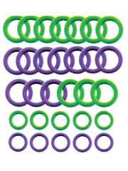 """Soft"" Stitch Ring Markers (pack of 30)"