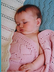 Easy Knit Baby Blanket Collection 2 Pattern