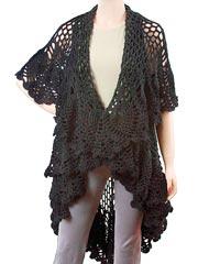 Gourmet Crochet Lisette Sweater Shawl