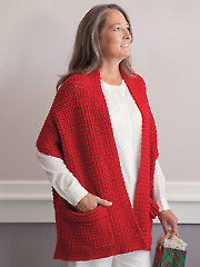 Quick & Easy Cozy Crocheted Wrap Pattern