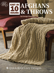 Knit in 10 Hours Afghans & Throws