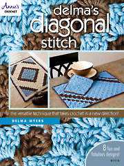 Delma's Diagonal Stitch Crochet Pattern