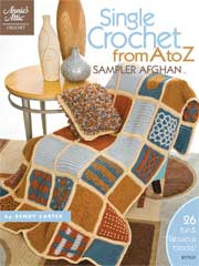 Single Crochet from A to Z Sampler Afghan Pattern Book