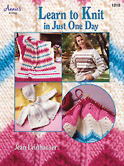 Learn to Knit in Just One Day