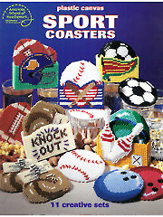 Sports Coasters Plastic Canvas Patterns