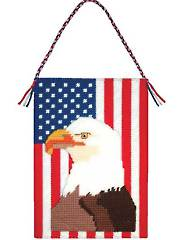 Symbols of America Wall Hanging