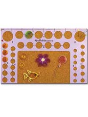 Quilling Circle Template Board