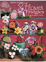 Flower Fridgies Plastic Canvas Patterns