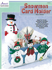 Snowmen Card Holder