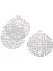 4 1/2 inch Radial Circles