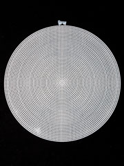 "Radial Circle 12"" (clear)"