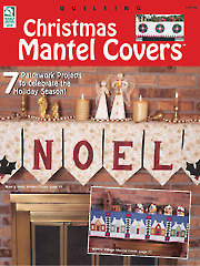 Christmas Mantel Covers