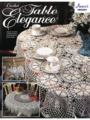 Crochet Table Elegance