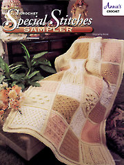 Special Stitches Sampler Crochet Pattern