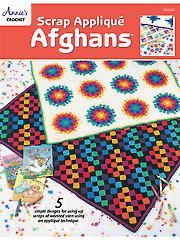 Scrap Applique Afghans