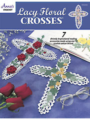 Lacy Floral Crosses