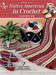 Native American in Crochet