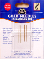 Gold Needle Assortment
