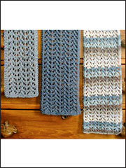 Easy Lace Scarves Knit Pattern