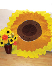 Stunning Sunflower Afghan Pattern Pack