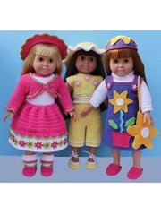 "18"" Flower Doll Wardrobe"