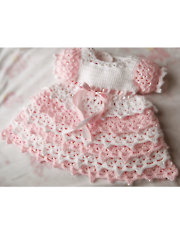 Dixie Belle crochet baby dress pattern