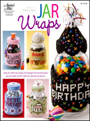 Plastic Canvas Jar Wraps