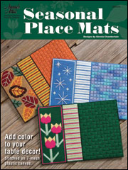 Seasonal Place Mats Plastic Canvas Pattern