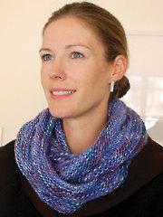 Loop Scarf Knit Pattern