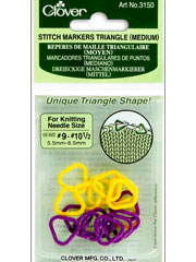 Triangle Stitch Markers Medium