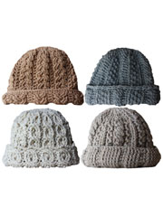 Canyon River Cable Hats Crochet Pattern