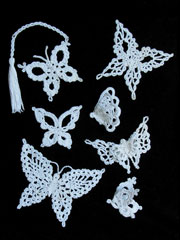 Enchanting Lace Butterflies Crochet Pattern