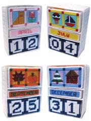 Quilted Seasonal Perpetual Calendar