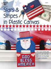 Stars & Stripes in Plastic Canvas Pattern