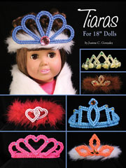 "Tiaras for 18"" Dolls Plastic Canvas Pattern"